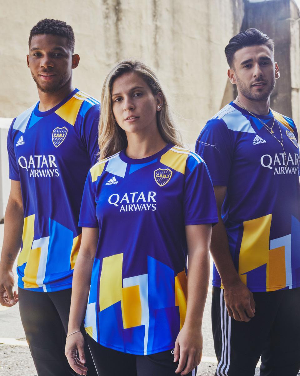 Camiseta Boca Juniors Segunda Equipación 2021