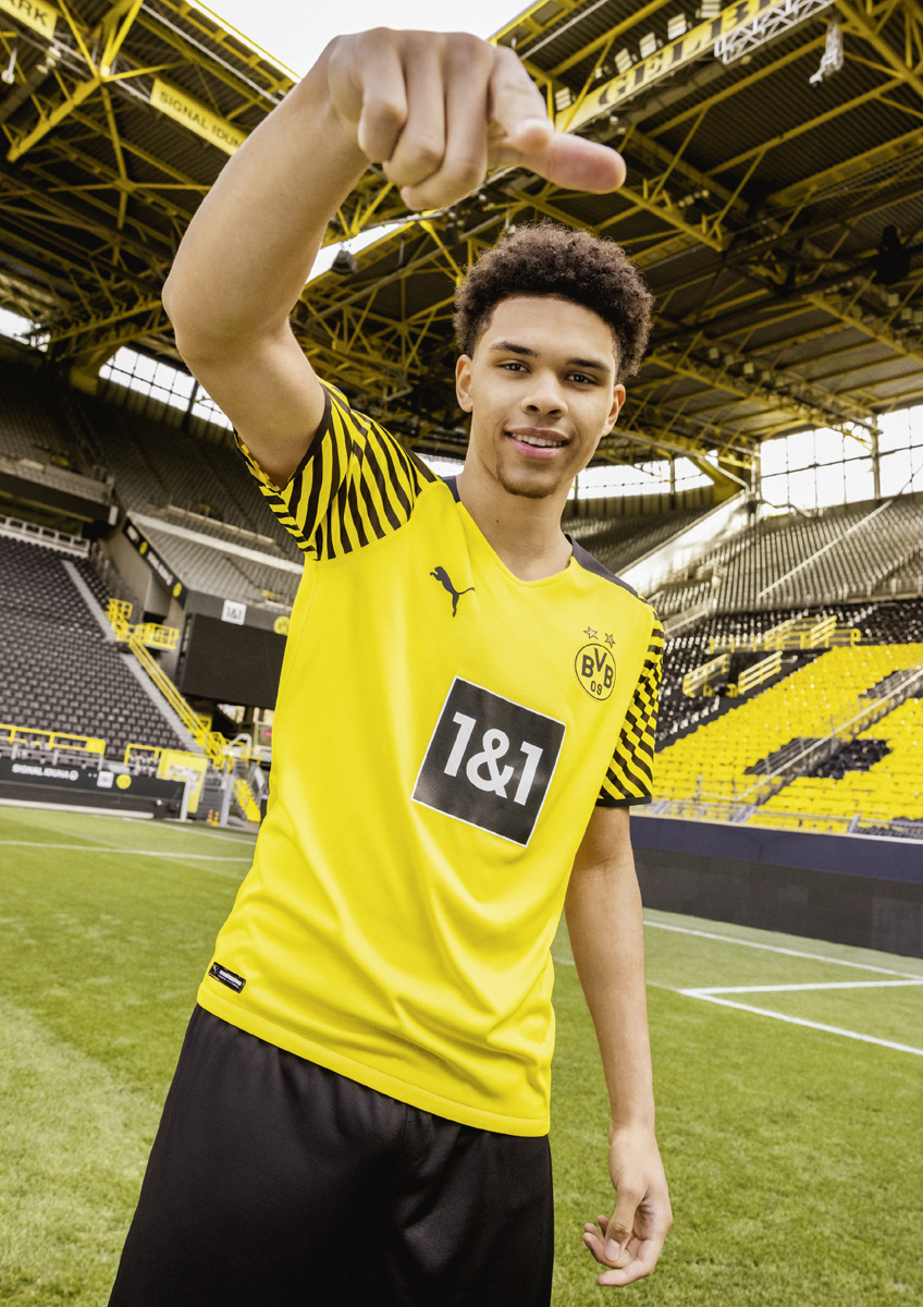 Camiseta Borussia Dortmund Primera Equipación 2021-2022